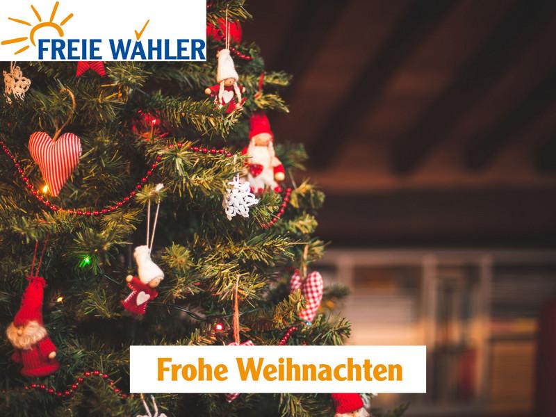Weihnachtsgrüße An Erzieherinnen.Weihnachtsgrüße Des Bundesvorsitzender Der Freien Wähler Hubert